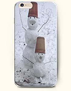 For SamSung Note 3 Case Cover case - Snowman Father And Son In Snowfield