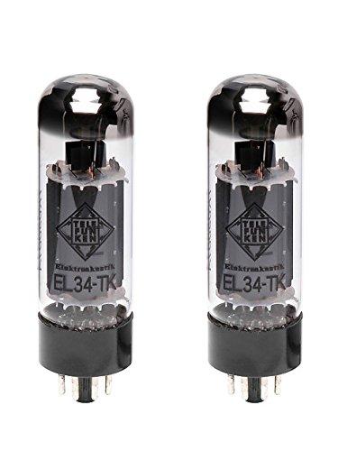 TELEFUNKEN Black Diamond EL34-TK Vacuum Tube Matched Pair
