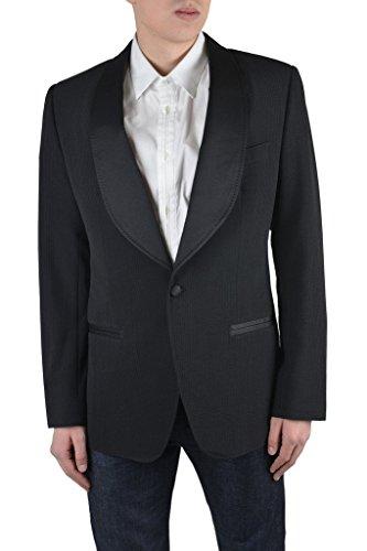Dolce & Gabbana Men's Off Black Wool One Button Tuxedo Blazer US 40 IT 50; (Tuxedo Dolce & Gabbana)