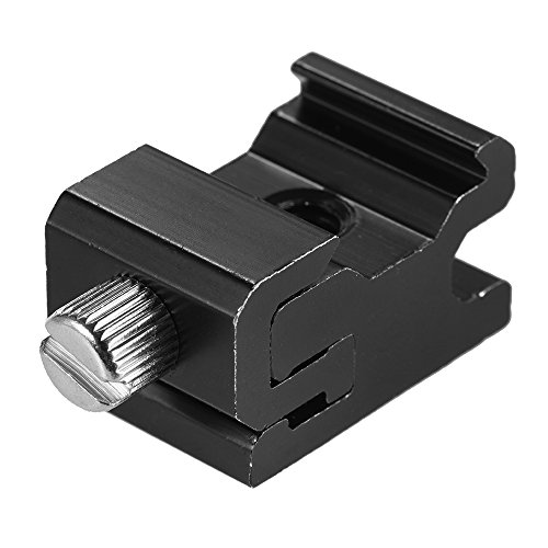 Metal Flash Speedlite Hot Shoe Mount Adapter Adjustable Breadth for Canon Nikon Yongnuo Godox On-camera by Signature888 Camera & Photo