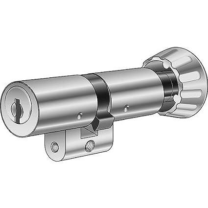 Kaba Cerradura botón giratorio de doble cilindro Kaba 8 1519/32,5/32