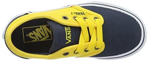 VansYt Atwood - Zapatillas para chico Azul (2 Tone Blue/yellow)