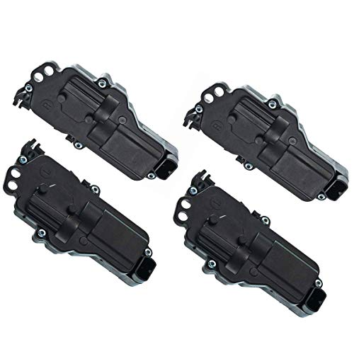 (A-Premium Door Lock Actuators Motors for Ford F-150 F-250 F-350 Super Duty Excursion Expedition Taurus Lincoln Navigator Mercury Sable Left and Right 4-PC Set)