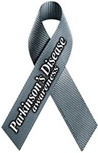 Amazon Com Parkinson S Disease Awareness Ribbon Magnet