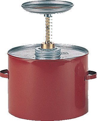 Safety Plunger Cans-Heavy Guage Steel-1 Quart