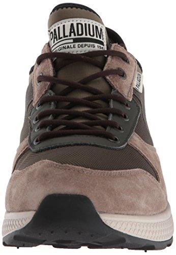 Palladium Hombres Ax Eon Army Runner Sneaker Marrón
