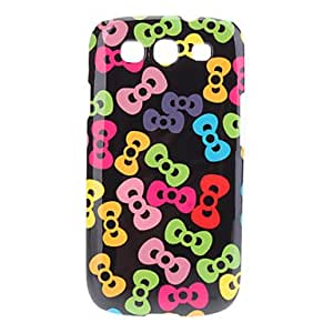 DUR Bow Pattern Hard Case for Samsung Galaxy S3 I9300