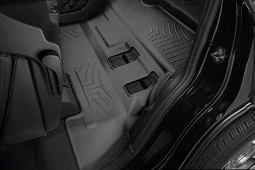 Weathertech 446077 Bucket Seats 3rd Row Black Floorliner (Tahoe 3rd Seat)