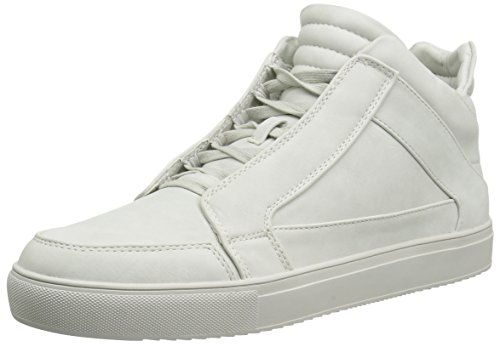 Steve Madden Men Defstar Fashion Sneaker Light Grey