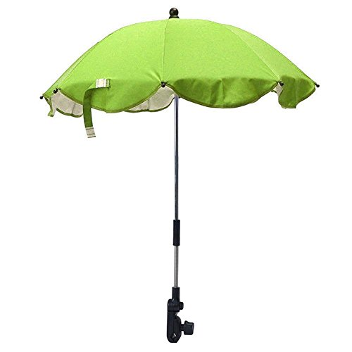 gentman Kids Baby Stretchable Sun Umbrella Parasol Buggy Pushchair Pram Stroller Chair Umbrella by gentman