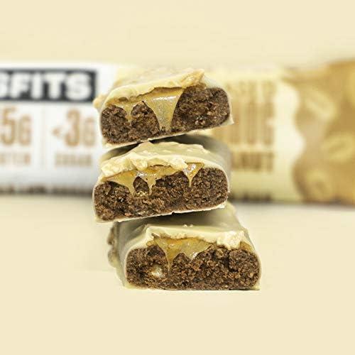 Misfits - Barra de proteína vegetal - 15 g de proteína, 3 g ...
