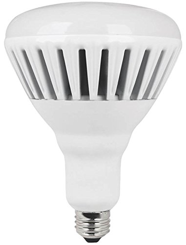 Feit Electric BR40/DM/2500/3K/LED Electric Br40/Dm/2500/3K/L Dimmable Led Lamp, 36 W, 120 V, Bulged Reflector, 25000 Hr, BR40 Indoor