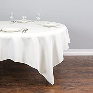 Linentablecloth ltc 85sqr 010105 85 square for 85 square tablecloth