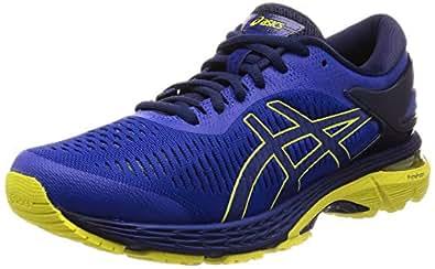 Asics Gel-Kayano 25, Zapatillas de Running para Hombre, Azul Blue/Lemon Spark 401, 39 EU