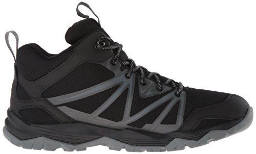 Merrell Hiking Boot Mid Waterproof Capra Rise Black Men's q4rFnAqf