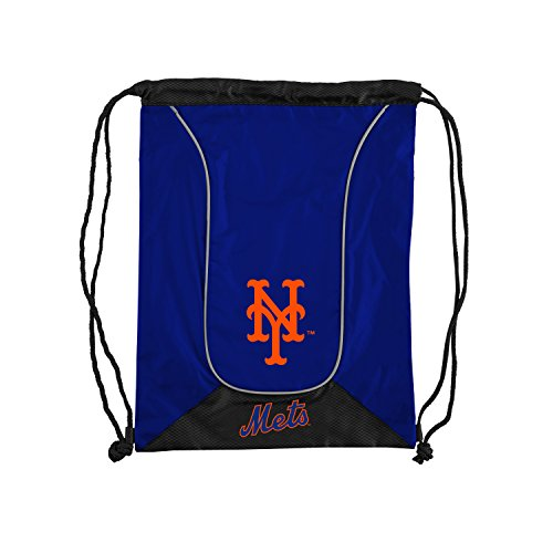 Officially Licensed MLB New York Mets Doubleheader Backsack, 18-Inch, Royal