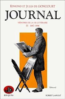 Journal des Goncourt, tome 3 par Goncourt