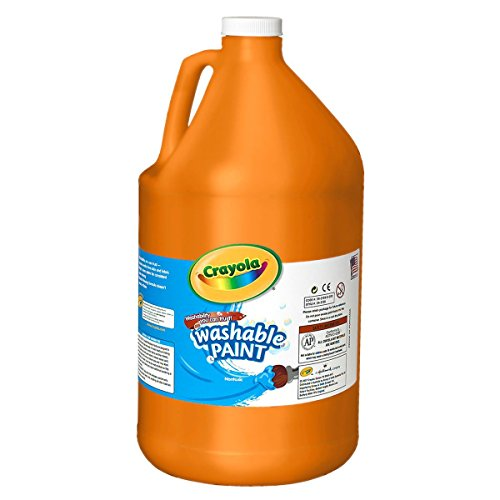 Crayola 54-2128-036 Washable Paint, Gallon Size, Orange
