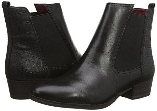 black Chelsea 001 Schwarz Women's Black Boots 25387 Tamaris EUwqYx