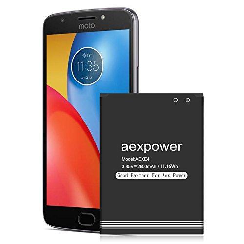 - Motorola Moto E4 Battery, AexPower 2900mAh Replacement Battery for Motorola Moto E4 XT1767PP( Verizon ), XT1766( Sprint/Boost Mobile), XT1765 MetroPCS, XT1768 ( U.S. Cellular ),Motorola GK40 Battery