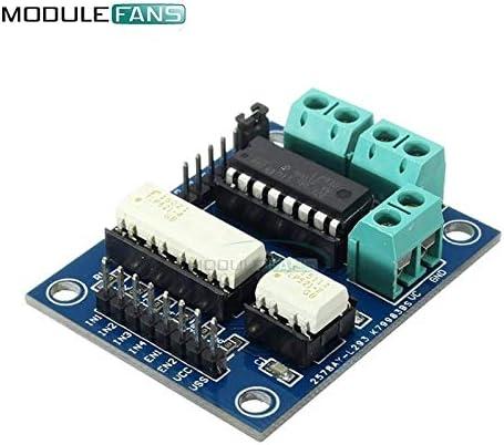 Carvicto L293D L293 Motor Driver Expansion Shield Control Board Dual H-Bridge For Arduino Duemilanove DC Stepper Mega2560 UNO R3 Module