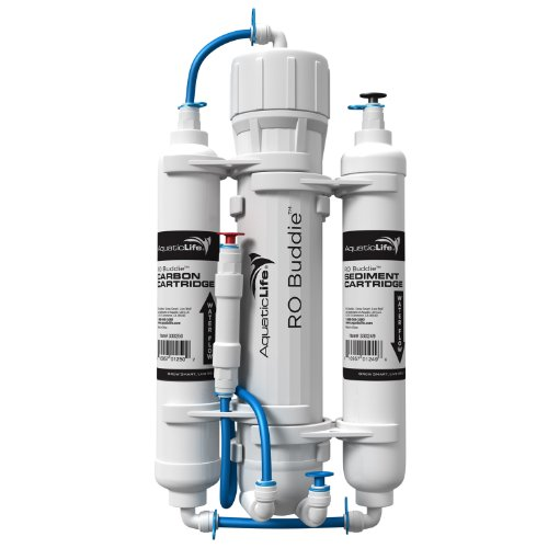 Aquatic Life RO Buddie Three Stage Reverse Osmosis, 50-Gallon