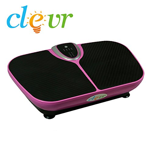 Clevr SupremeThin Crazy Fit Full Body Vibration Fitness Exercise Machine Large Platform Pink For Sale