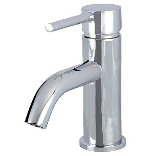 Kingston Brass LS8221DL Concord Single Handle Monoblock Lavatory Faucet, Polished Chrome