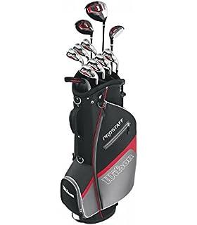 Wilson, Set completo para principiantes, 10 palos de golf ...