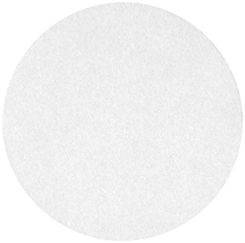 Whatman 10300214 Ashless Quantitative Filter Paper, 185mm Diameter, 2 Micron, Grade 589/3 (Pack of 100) by Whatman