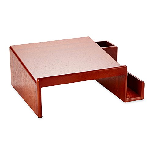 Rolodex Wood Tones Mahogany Phone Stand