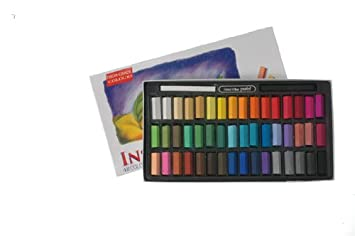 Inscribe - Estuche de tizas Pastel (48 Colores)