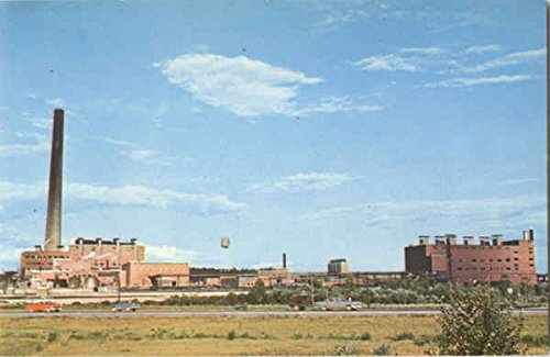 Iron Ore Plant Of International Nickel Co Copper Cliff, Ontario Canada Original Vintage - Originals Canada Ore