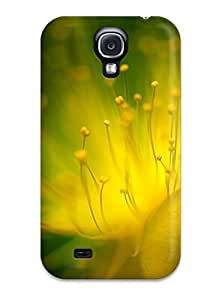 linfenglinFashion Tpu Case For Galaxy S4- Flower Defender Case Cover