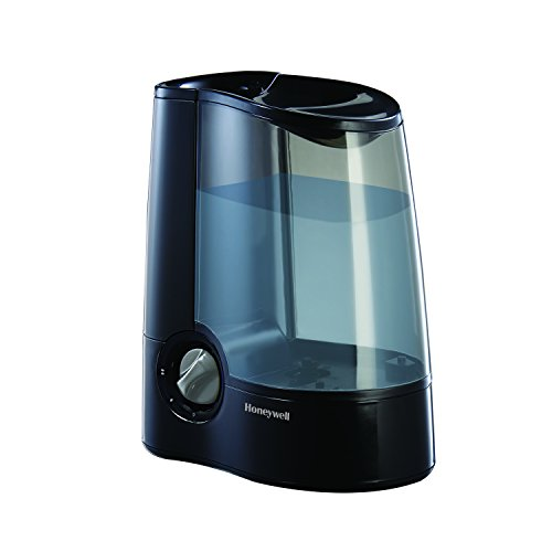 Honeywell HWM705B Filter-Free Warm Moisture Humidifier, Black (Room Humidifiers Warm)