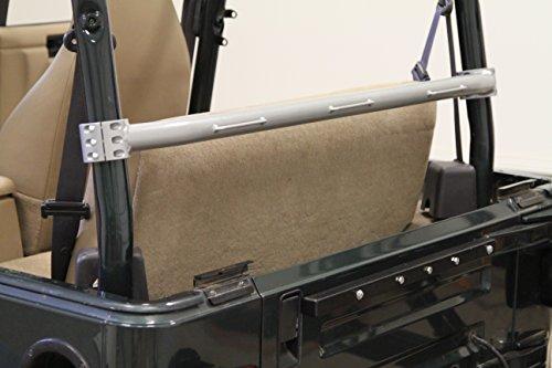 Seat Harness Bar - Rock Hard 4x4 Rear Seat Harness Bar for Jeep Wrangler TJ 1997 - 2006