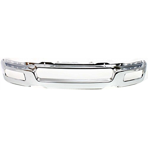 Bumper for Ford F-150 04-06 Front Bumper Chrome w/Fog Light Holes To 8-8-05 New Body Style ()