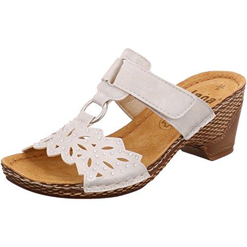 Jana shoes Da.-Pantolette Weiß