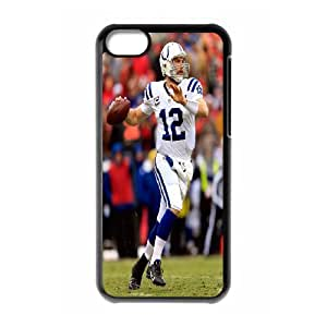 High Quality Phone Back Case Pattern Design 13Andrew Luck,NCAA's Big Manning Pattern- For Iphone 5c