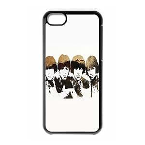 taoyix diy C-EUR Print The Beatles Pattern Hard Case for iPhone 5C