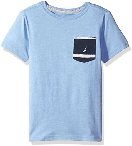Nautica Boys' Jersey Pocket Tee Shirt
