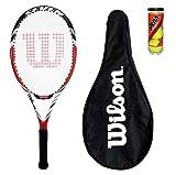 Wilson BLX Seven Tennis Racket + Full Cover + 3 Balls