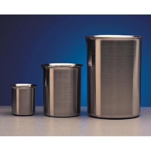 (Polar Ware 2000B Stainless Steel Griffin Style Beaker, 2000 mL Capacity, 4-7/8