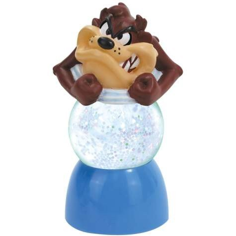 Looney Tunes Water Globe Taz Sparklers Style