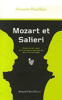 Mozart et Salieri par Pouchkine