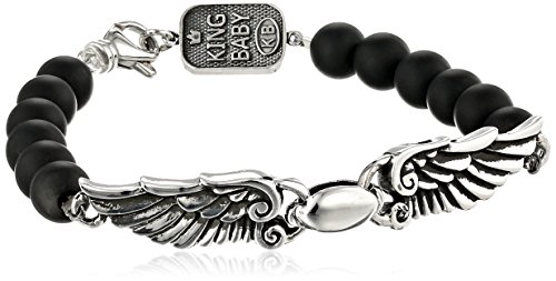 King Baby 8mm Onyx Bead Wingsp