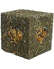Rosewood Jouet Naturals Cube à Fourrage J'Adore Le Foin pour Friandises pour Petits Animaux Taille Moyen 12,5cm
