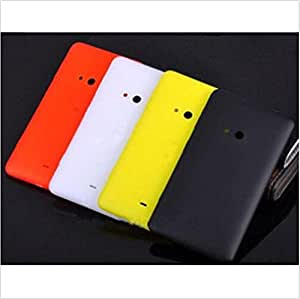 Color Green Original Battery Back Cover Case caja + Tempered Glass Film for Nokia Lumia 625