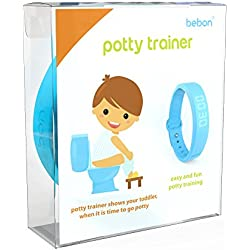 Potty Trainer - Toilet Trainer for Kids - makes potty training easier - let your child know when it's time to go to the potty (blue)
