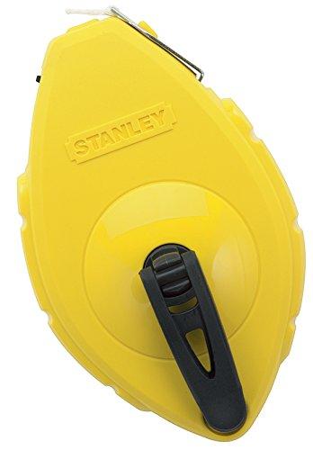 Stanley Schlagschnur, ABS-Kunststoff (Schiebefach, Edelstahl Endhaken, fü r 30 m Schnur) 0-47-440 BLAMT